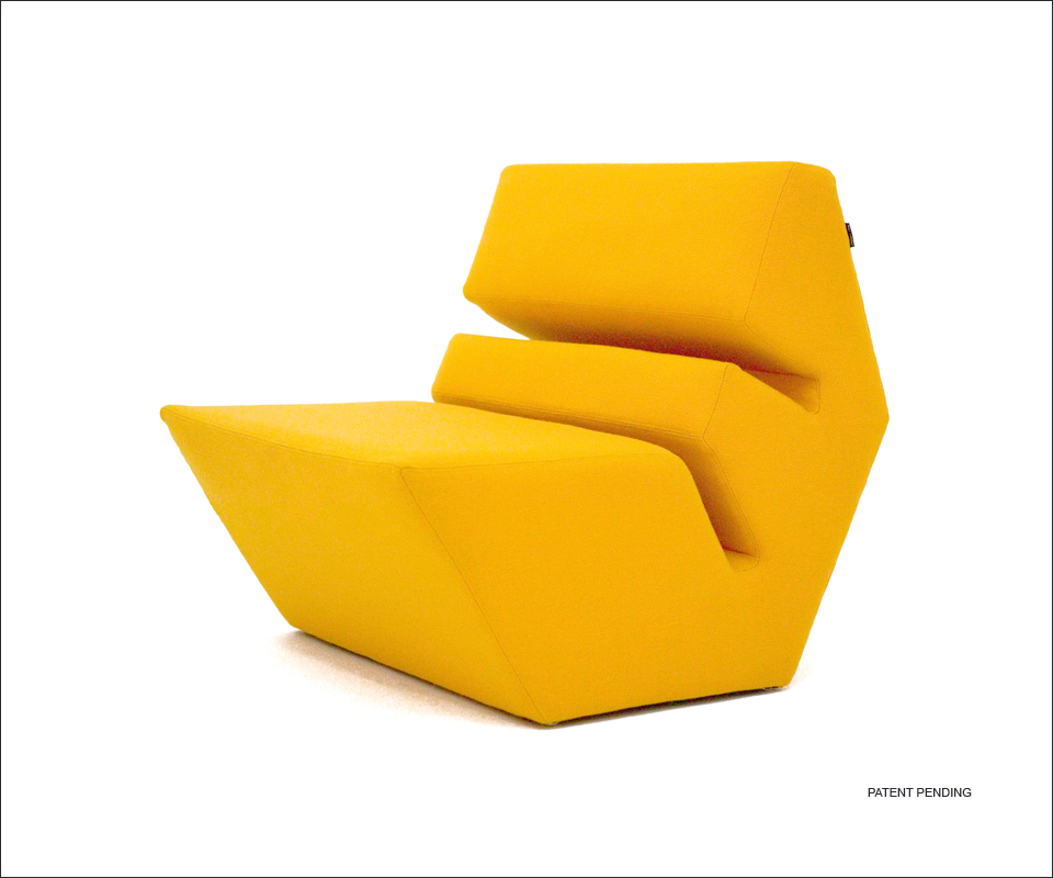 Evo Armchair And Ottoman 1